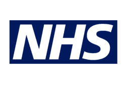 C logo nhs blue
